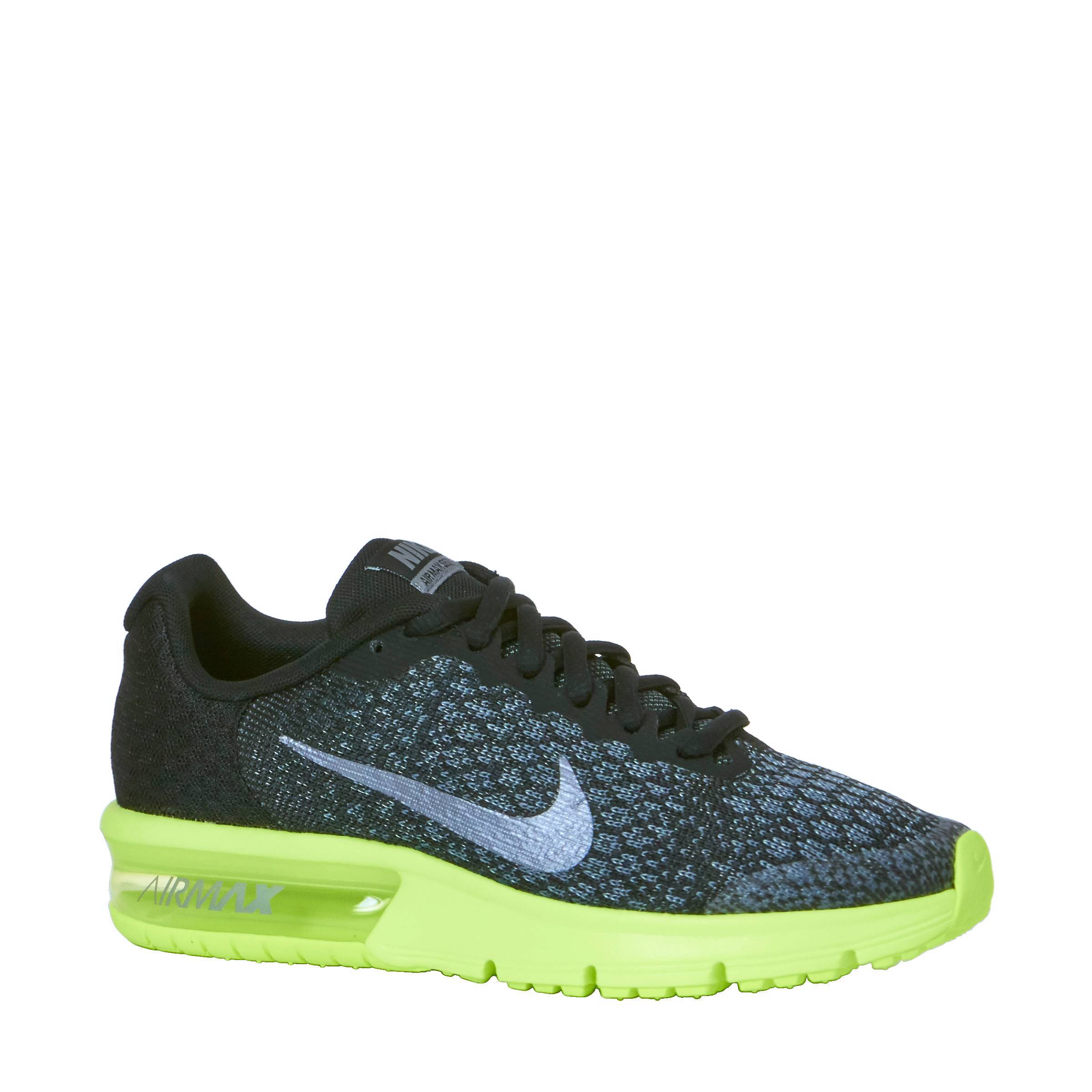 nike air max sequent 2 dames zwart
