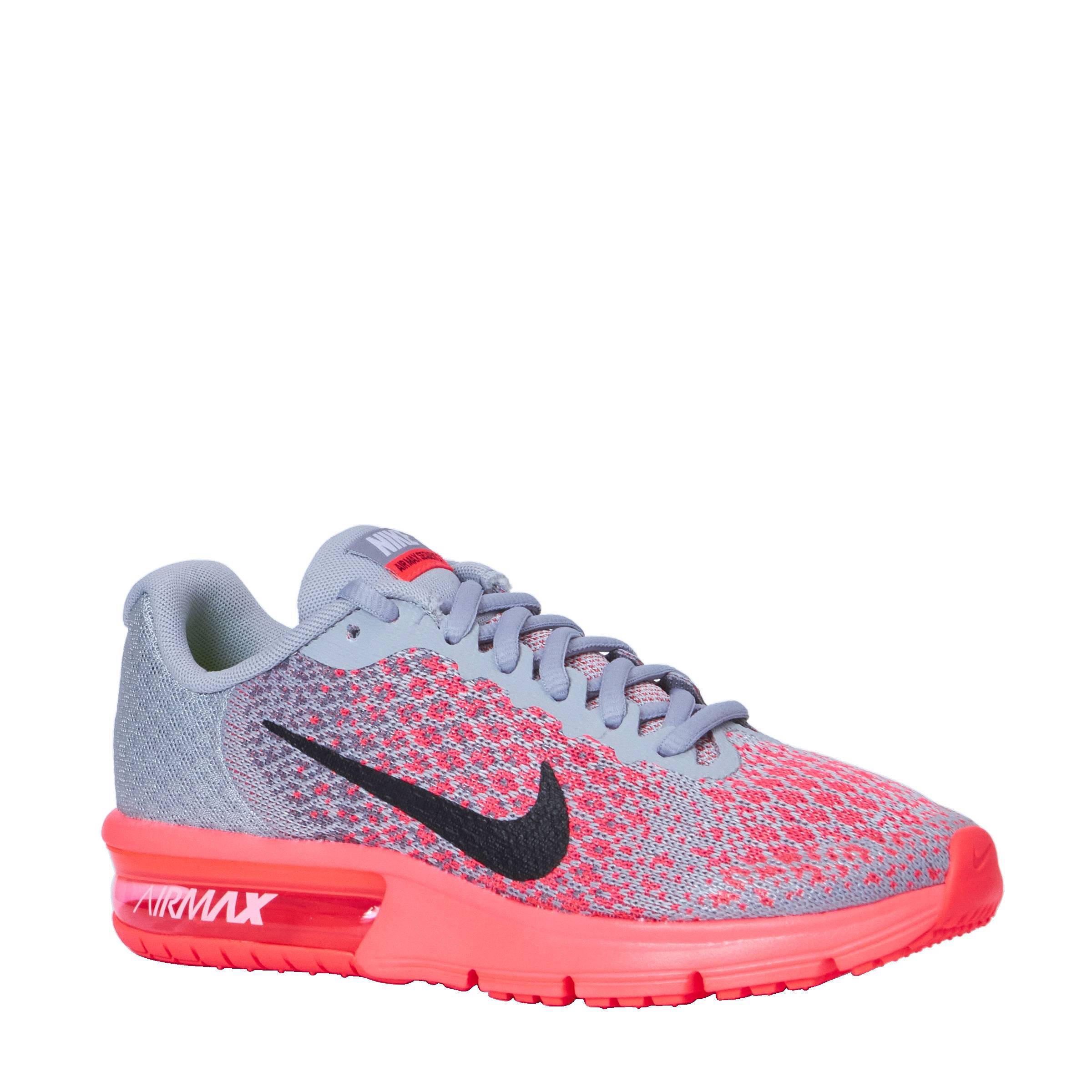 nike air max sequent dames roze