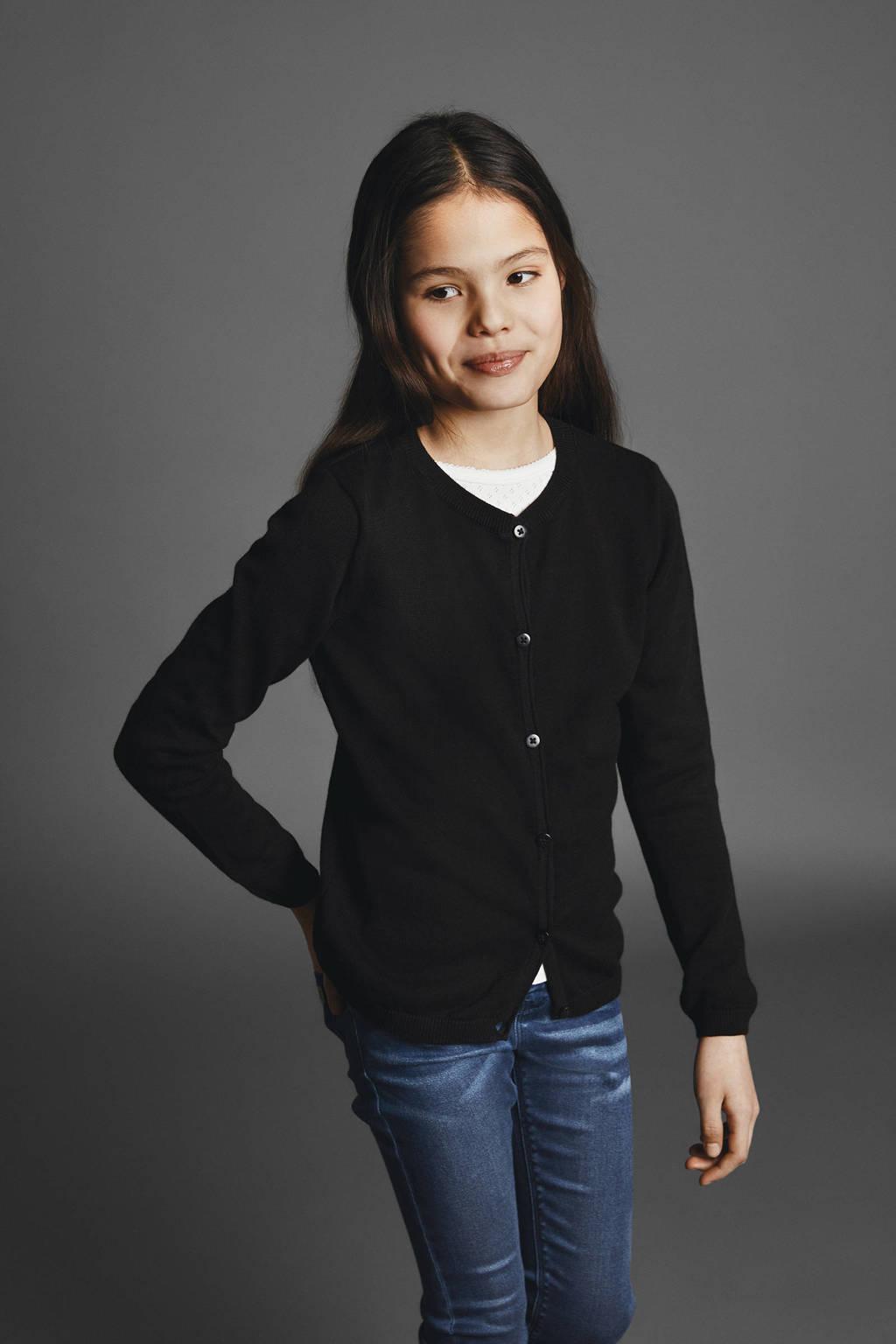 NAME IT KIDS vest, Zwart