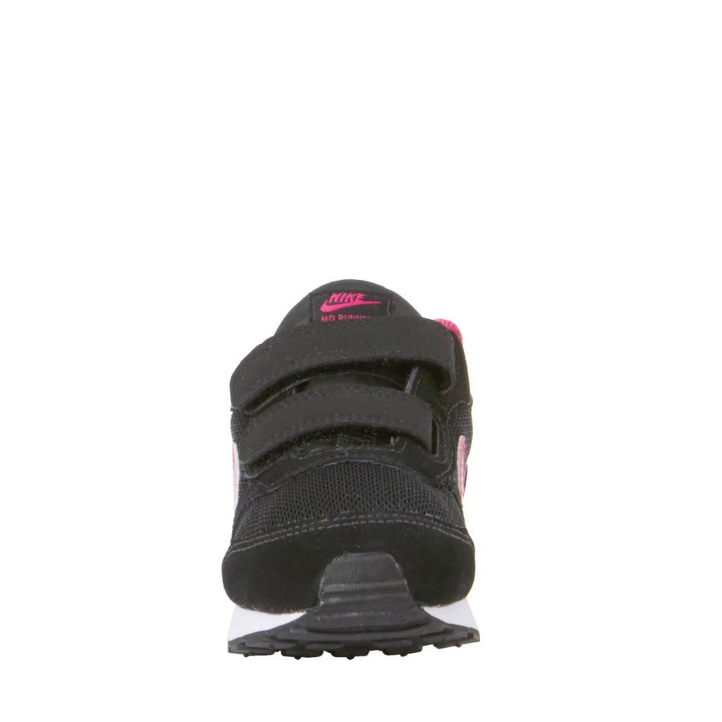 ba144f07188 Nike MD Runner 2 sneakers, Zwart/roze/wit