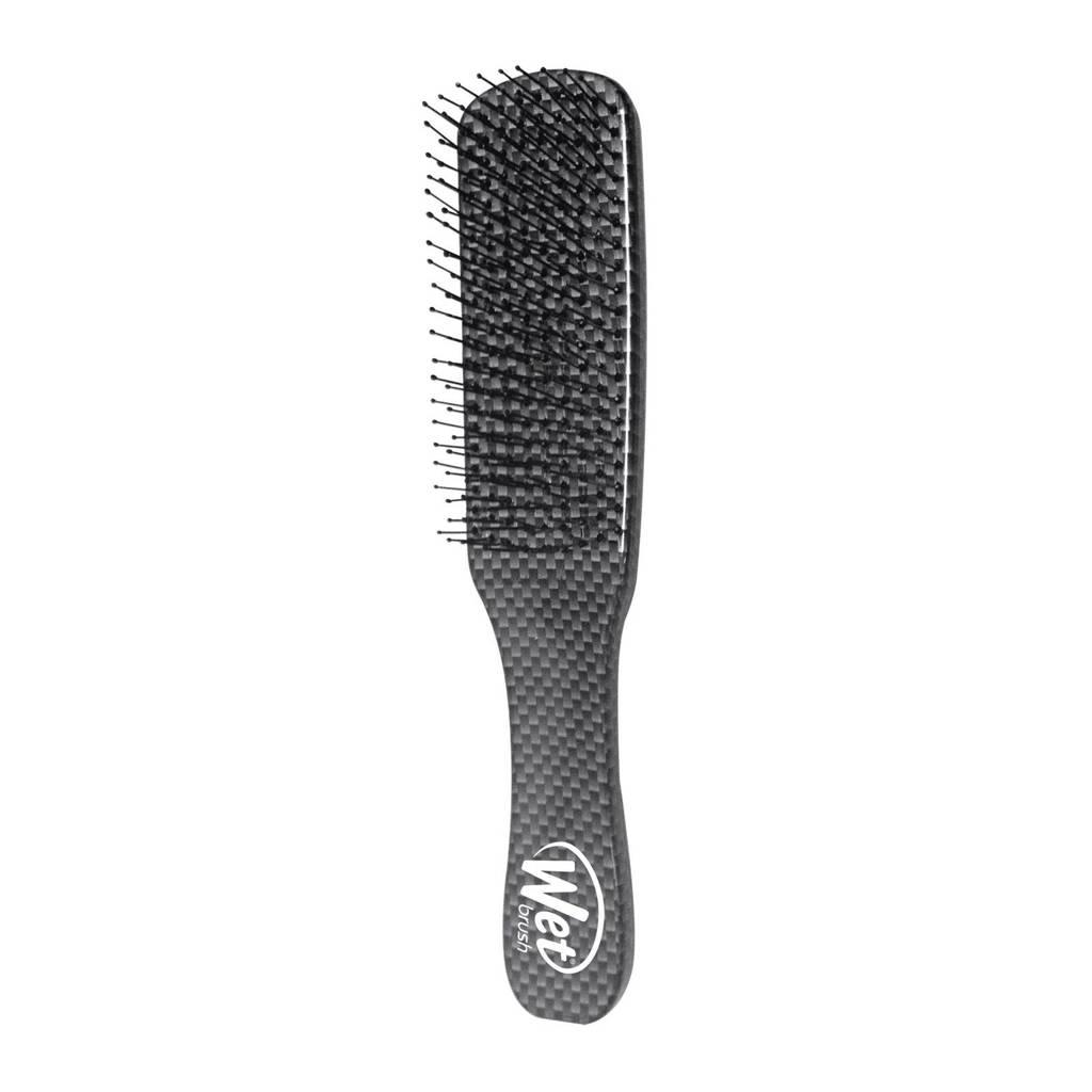 Wet Brush Men haarborstel zwart, Zwart