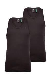 G-Star RAW Base hemd (set van 2), Zwart
