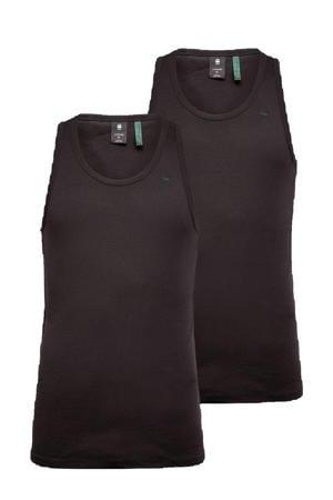 hemd Base (set van 2) zwart