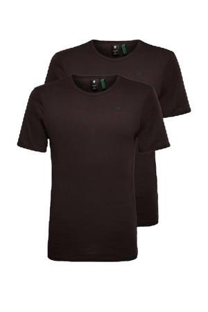 Base T-shirt (set van 2)