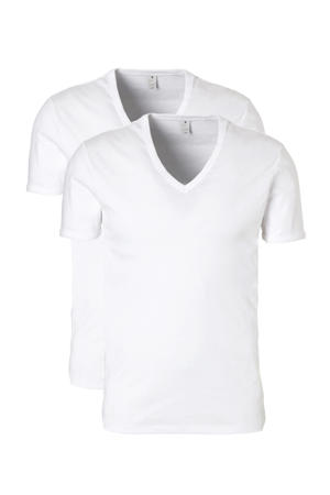 Base T-shirt (set van 2)
