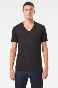 G-Star RAW Base T-shirt (set van 2), Zwart
