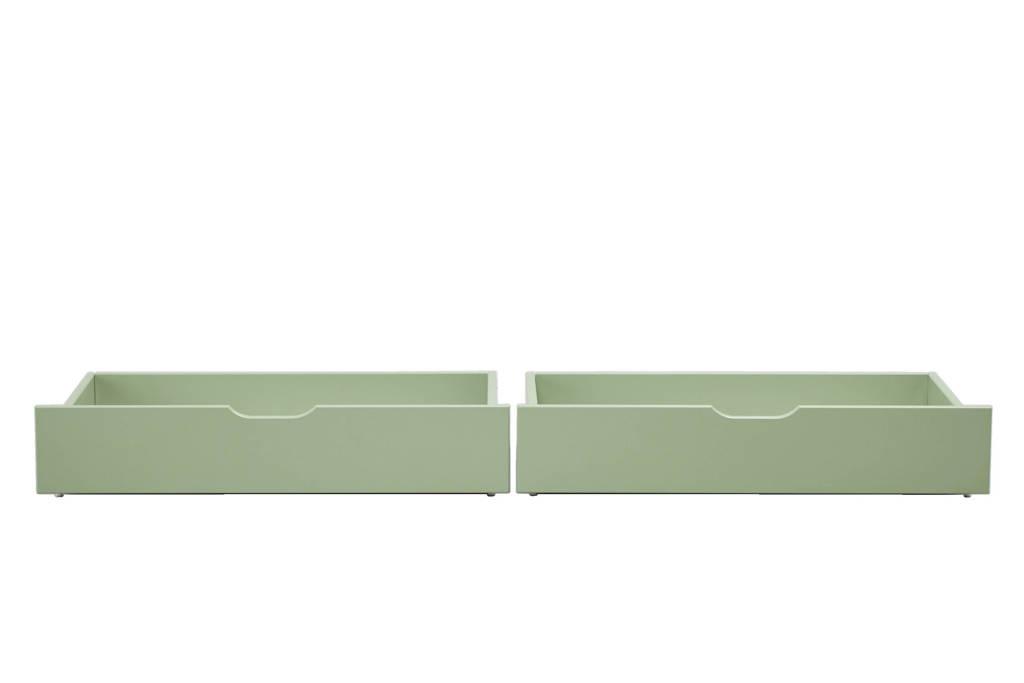 Hoppekids bedlade (set van 2), Groen