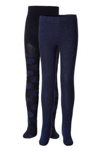 whkmp's own maillot - set van 2 glitter donkerblauw, Blauw