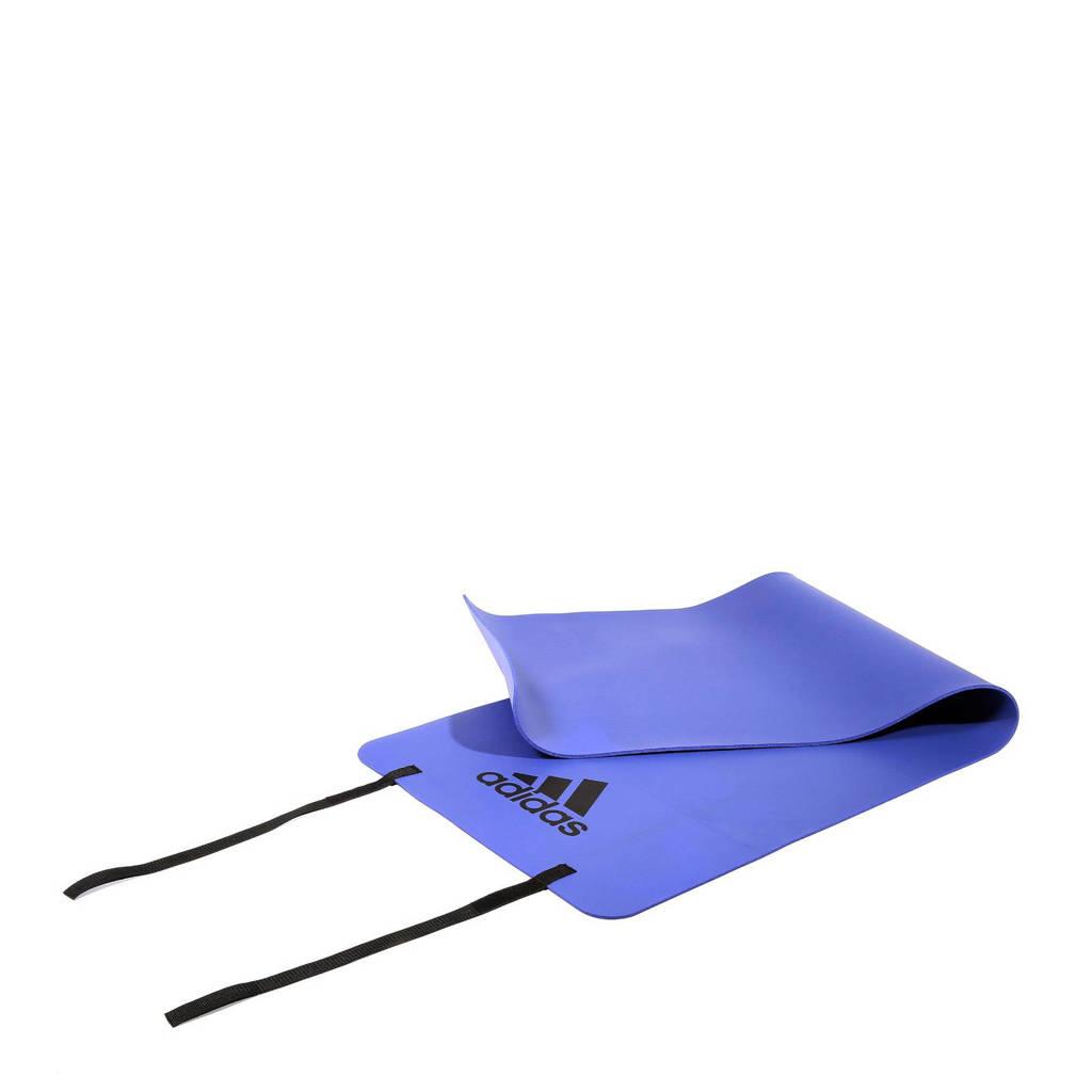 adidas performance Flash purple fitness mat, oranje rood