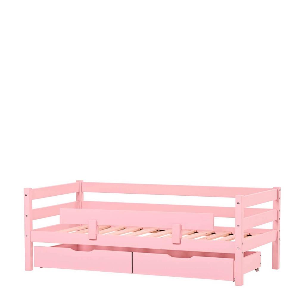 Hoppekids peuterbed met uitvalbeveiliging (70x160 cm), Roze