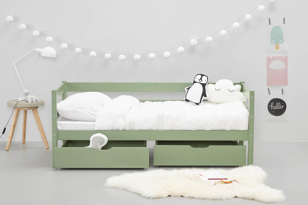 Peuterbed Of Groot Bed.Hoppekids Peuterbed Met Uitvalbeveiliging 70x160 Cm 70x160 Cm