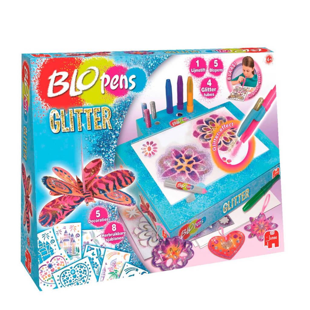 Jumbo  Blopens Glitter blaasstiften