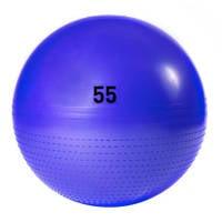 adidas Performance gym bal 55 cm, paars blauw