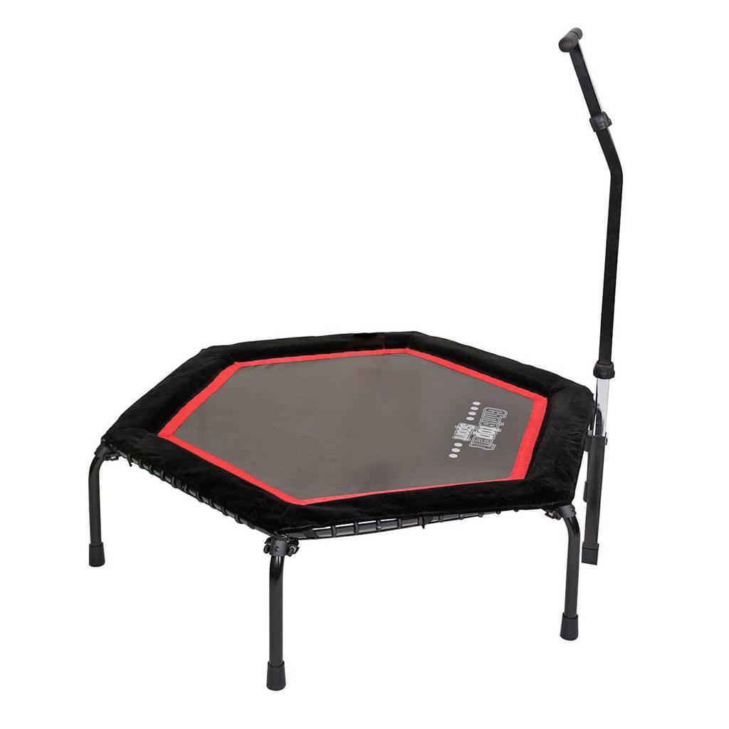 Christopeit fitness trampoline T 200, zwart rood