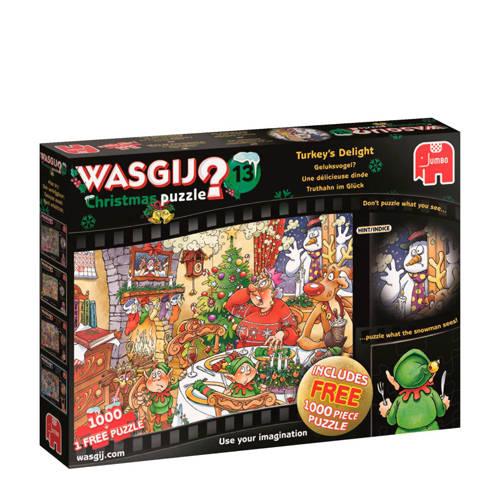 Wasgij? Christmas 13: Geluksvogel? Puzzel