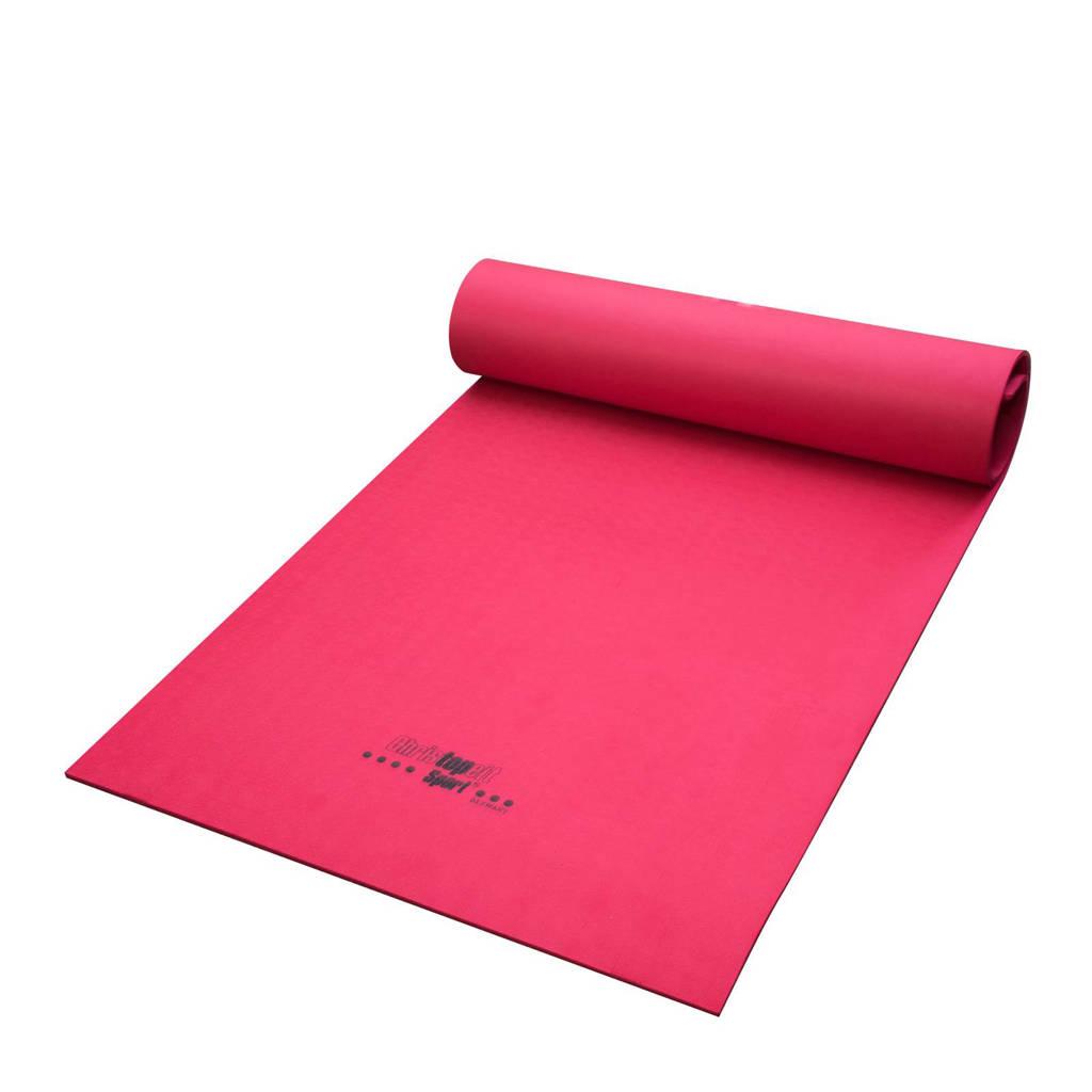 Christopeit 4 mm yoga mat, Fuchsia