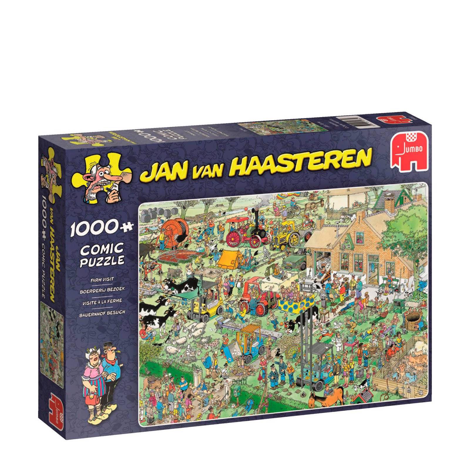 Jumbo  Jan van Haasteren BoerderijBezoek legpuzzel 1000 stukjes