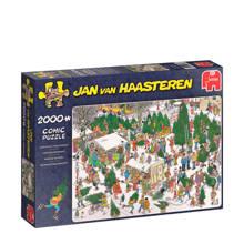 Jan van Haasteren kerstbomenmarkt  legpuzzel 2000 stukjes