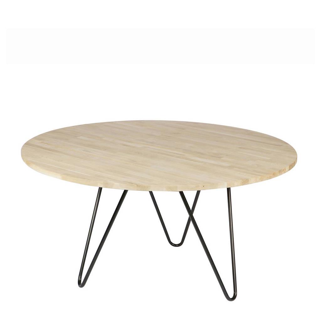 Ronde Eettafel Zwart 150.Eettafel Circle Xl 150 Cm