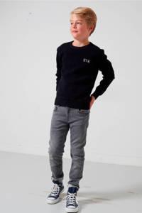 America Today Junior Keanu skinny fit jeans, Zwart/grijs
