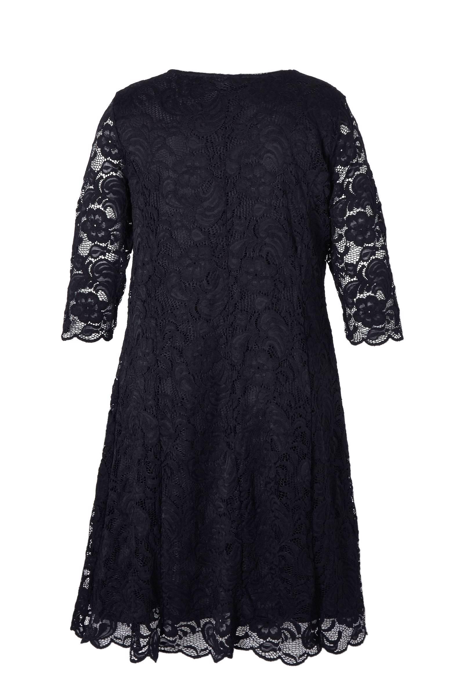 b4171af2eab40b JUNAROSE kanten jurk