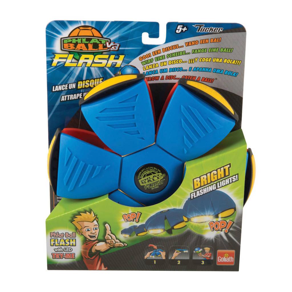 Goliath Phlat Ball flash blauw/rood, Blauw