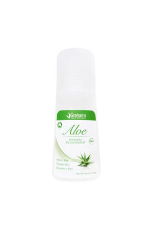 Aloe Mineral Deodorant - 65ml