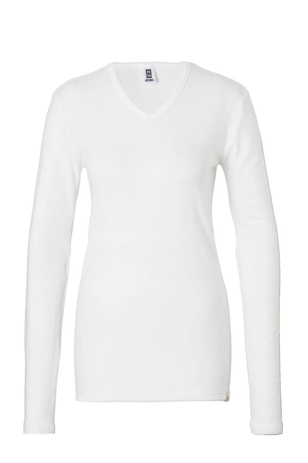 ten Cate thermo shirt wit, Ecru