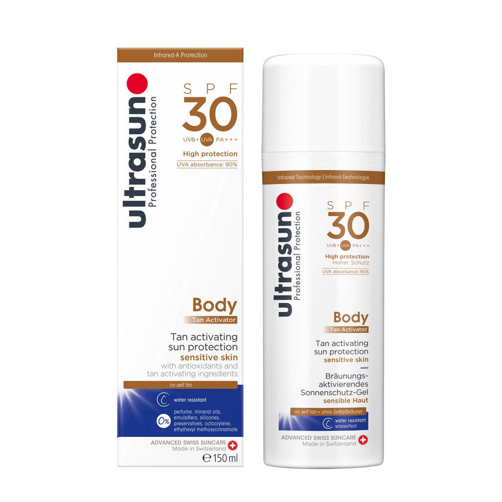 Ultrasun Body Tan Activator SPF30 - 150ml