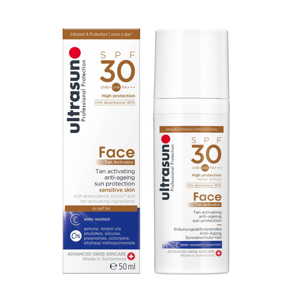 Ultrasun Face Tan Activator SPF30 - 50ml