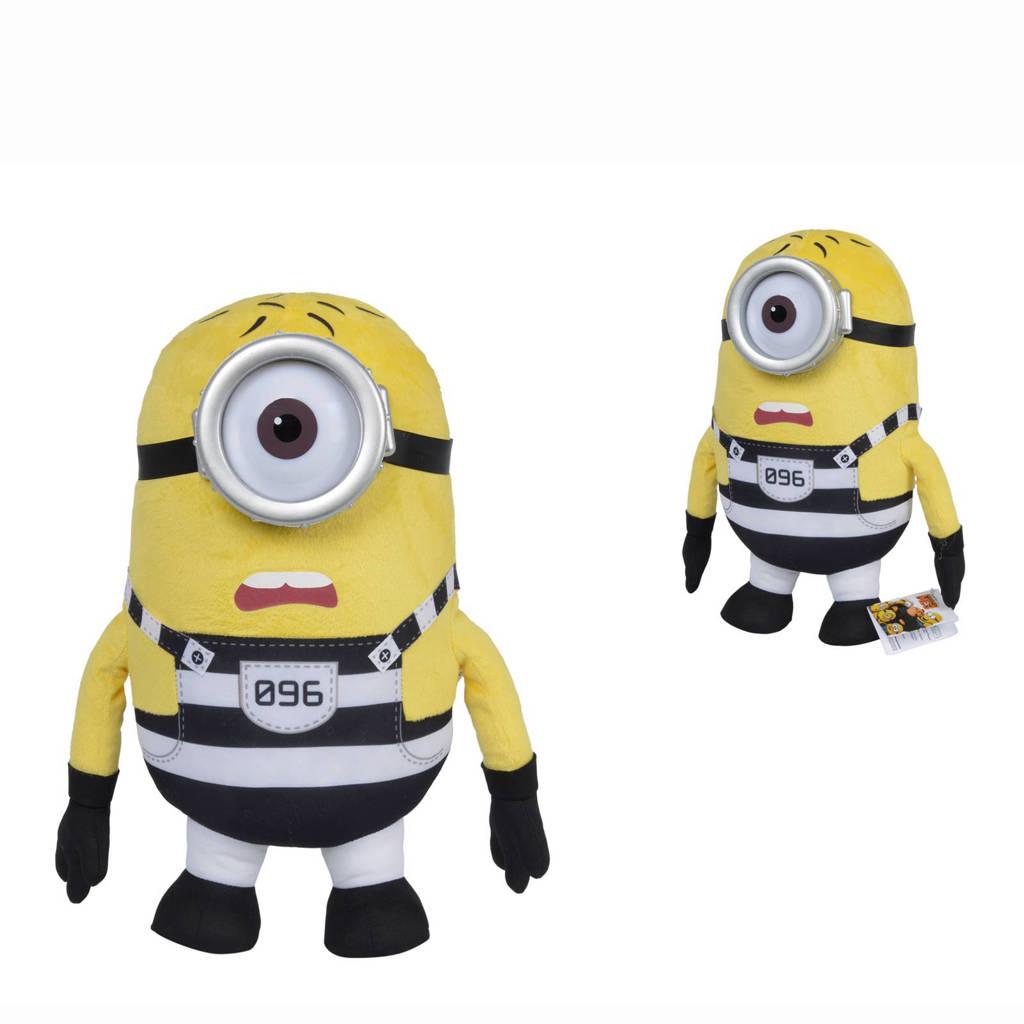 Minions gevangenis Carl knuffel 36 cm