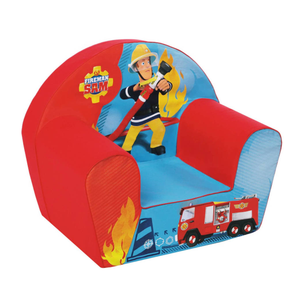 Simba  Brandweerman Sam kinderzetel
