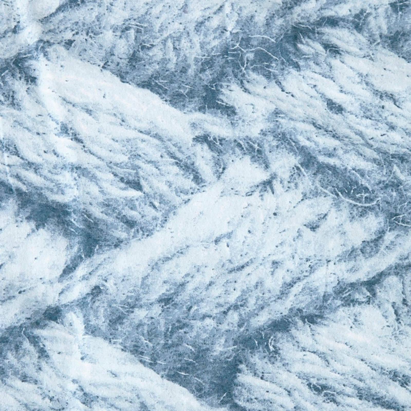 whkmps own flanellen dekbedovertrek 2 persoons blauw