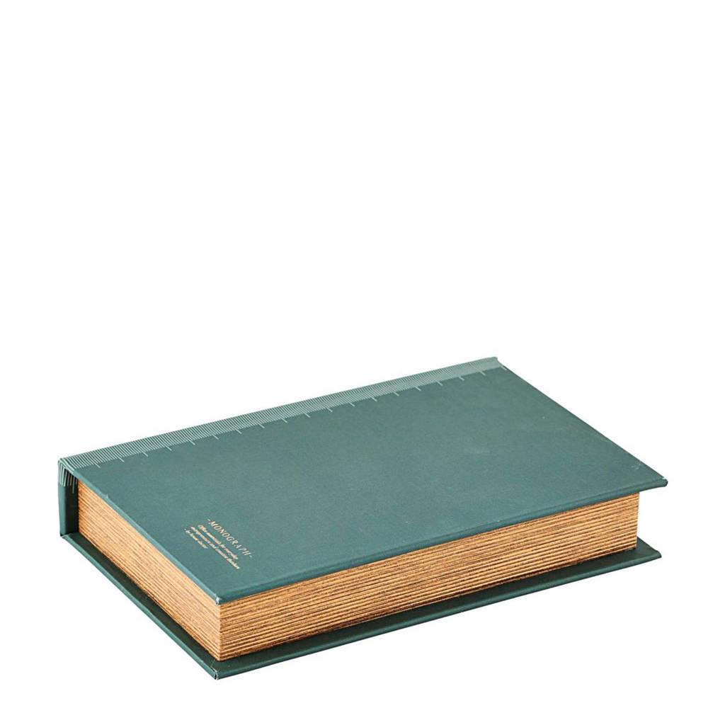 Monograph opbergdoos, Groen