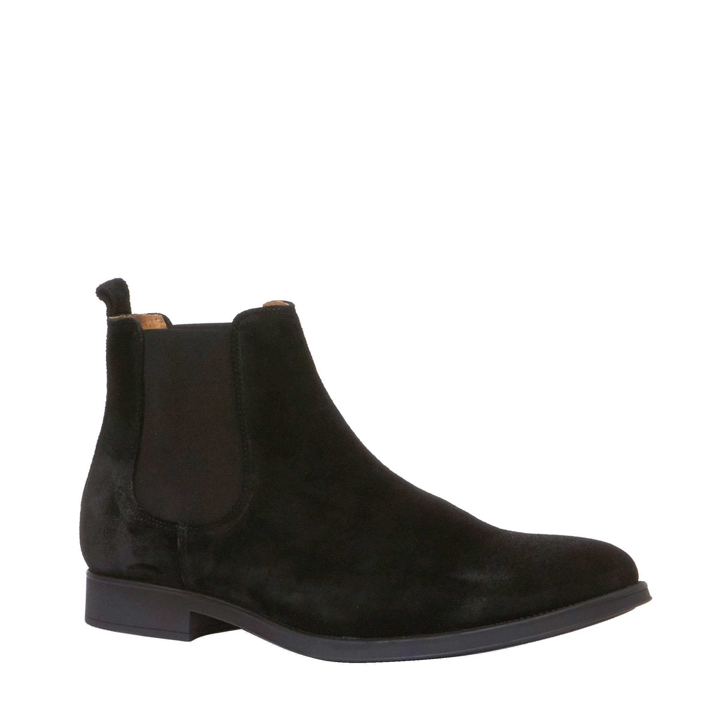 Sélectionnés En Daim - Chaussures Hommes Blancs 6lBVgXli