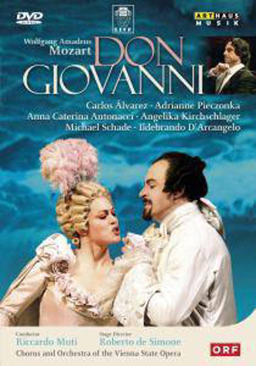 Alvarez,Pieczonka,Antonacci, Schade - Don Giovanni, Wenen 1999 (DVD)