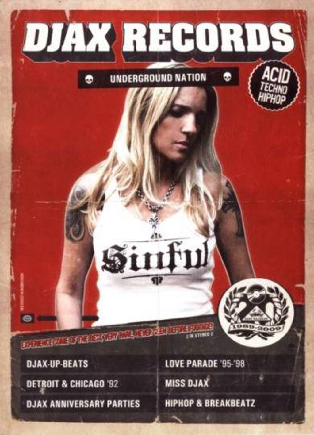 Various - Djax Records - 20 Years - Unde (DVD)
