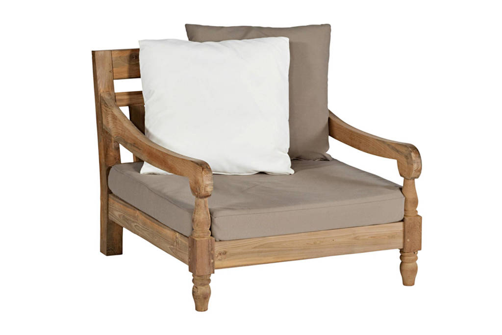 Exotan loungestoel Kawan XL, Hout