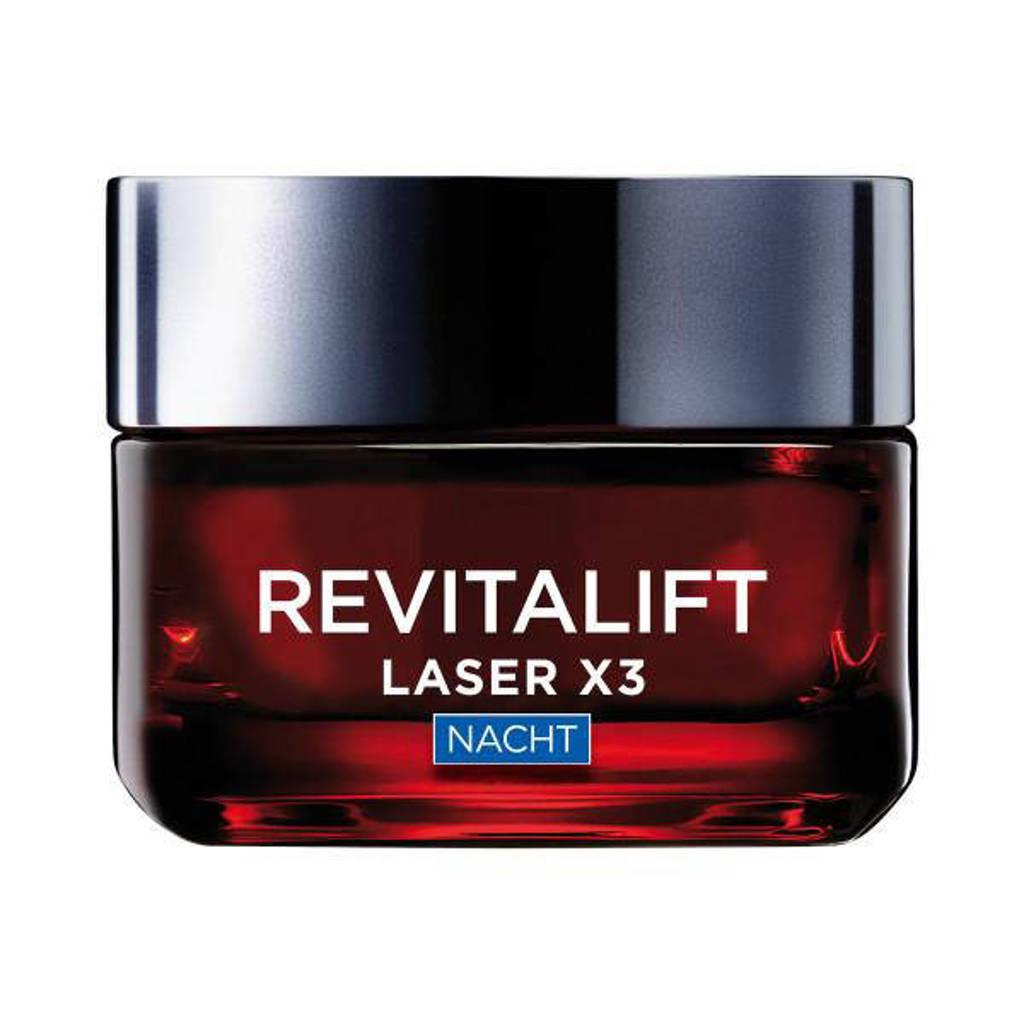 L'Oréal Paris Skin Expert Revitalift Laser X3 nachtcrème