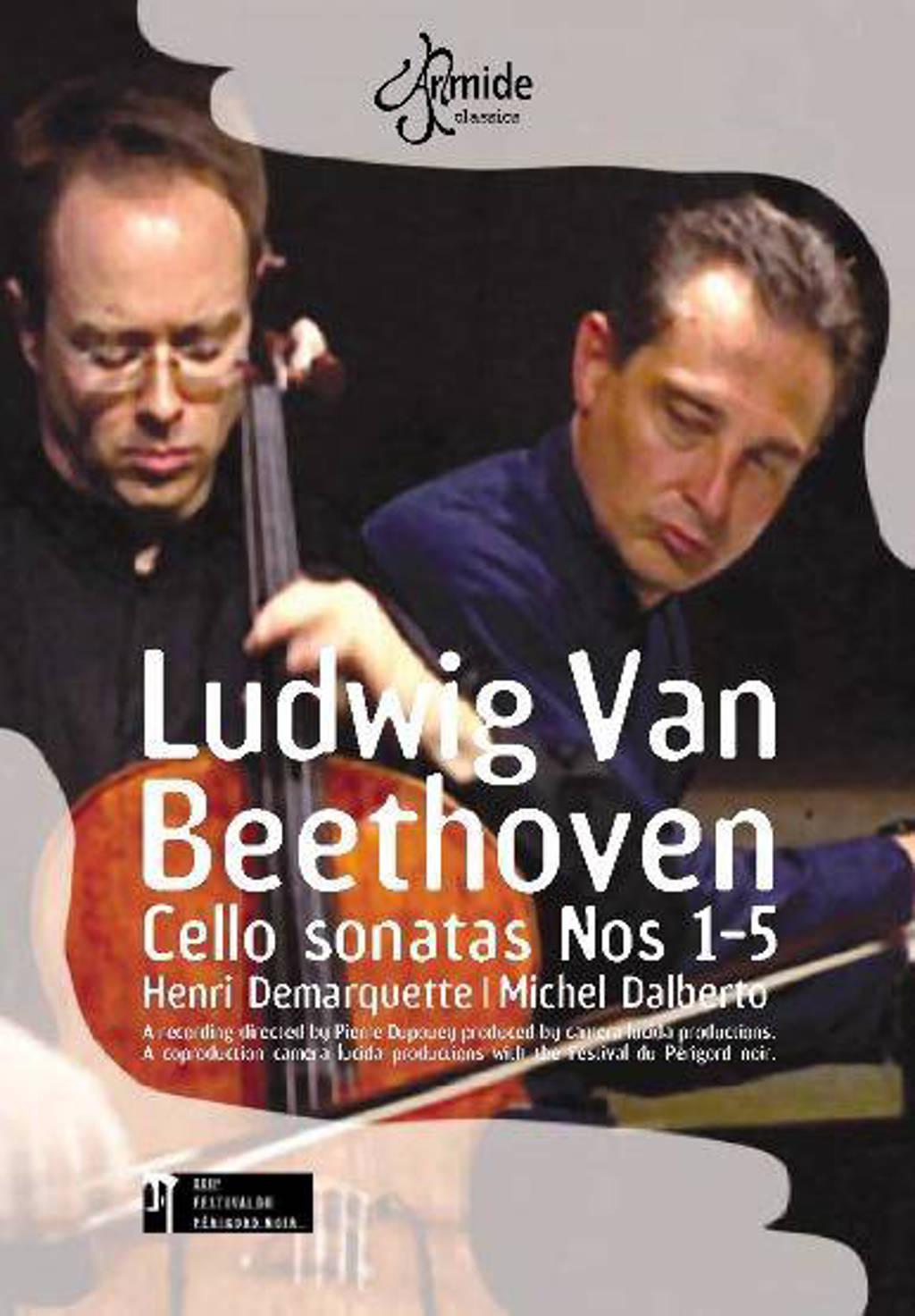 H. Demarquette - Cello Sonatas (DVD)