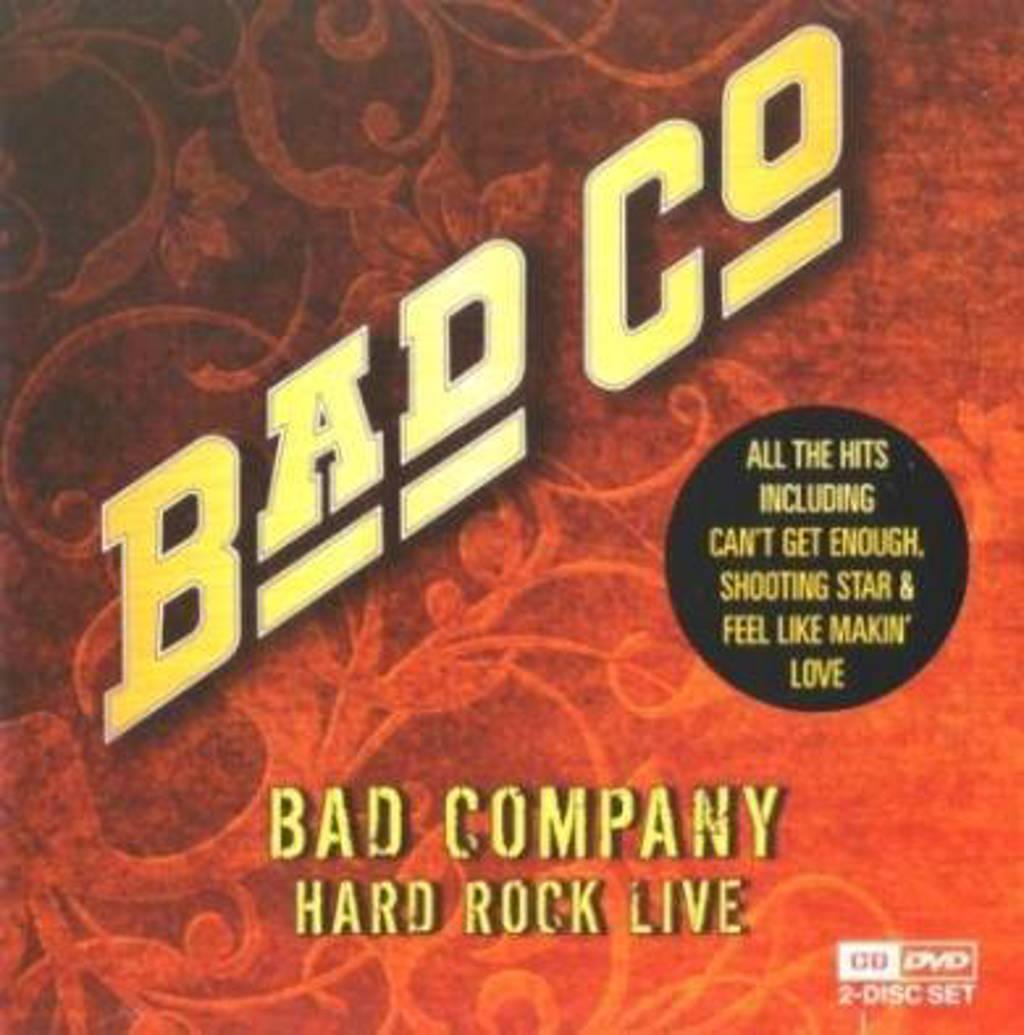 Bad Company - Hard Rock Live (DVD)