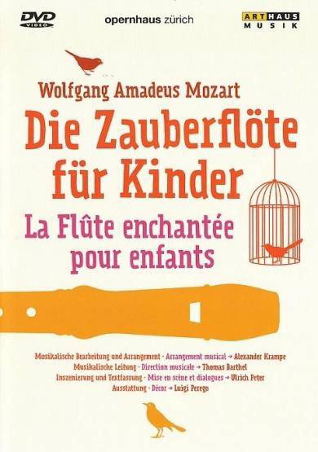 Drole,Rabl,Kyriakidou,Guo,Bidzinski - Die Zauberflote Fur Kinder, Zurich (DVD)
