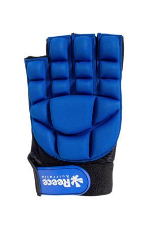hockeyhandschoen kobaltblauw