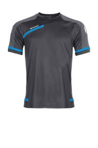 Stanno   sport T-shirt, Grijs/blauw