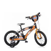 Dino Bikes BMX 16 inch kinderfiets 16 inch Zwart