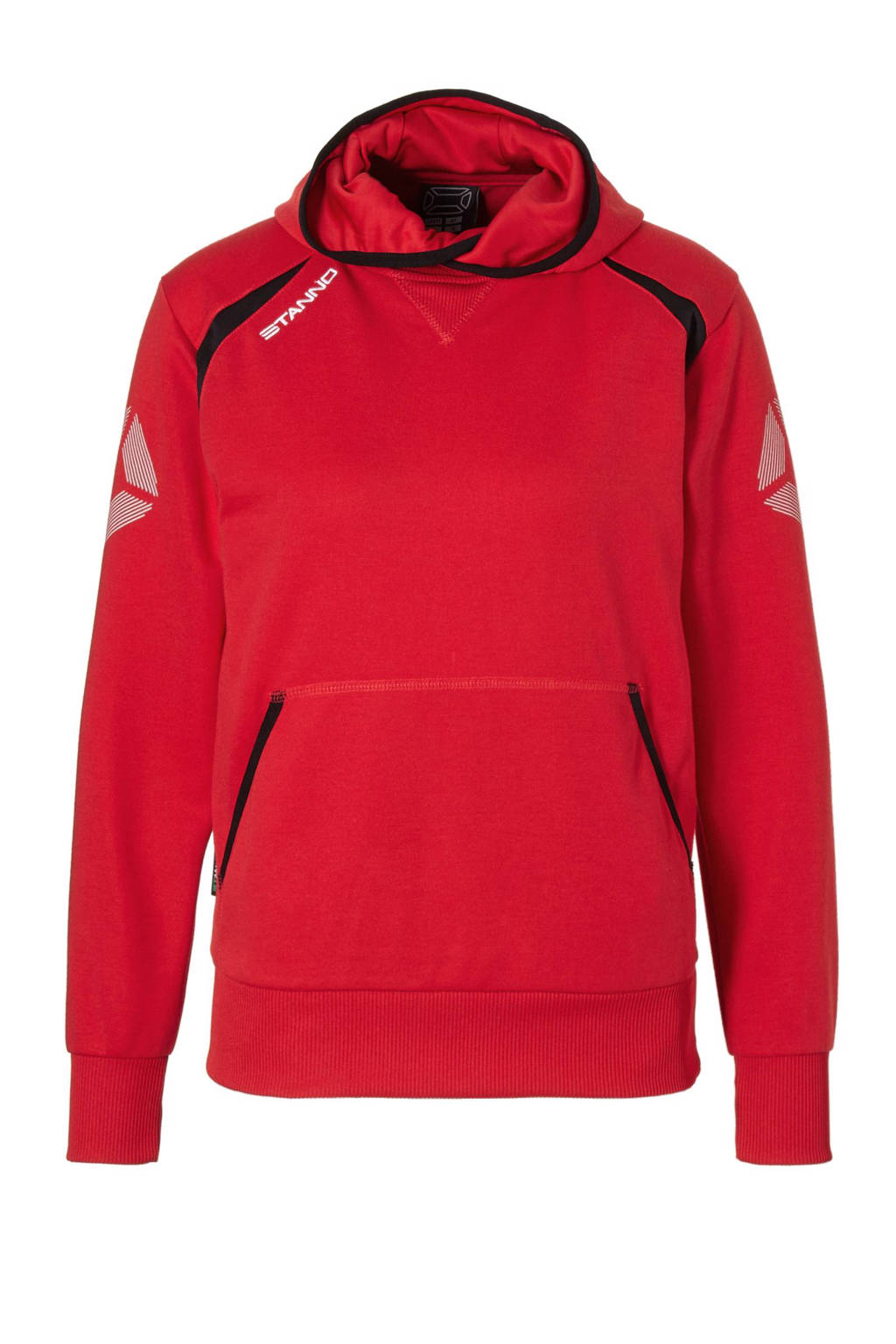 Stanno Centro hooded sportsweater, Rood