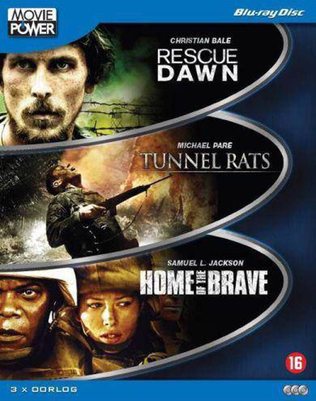 Rescue dawn/Tunnel rats/Home of the brave (Blu-ray)