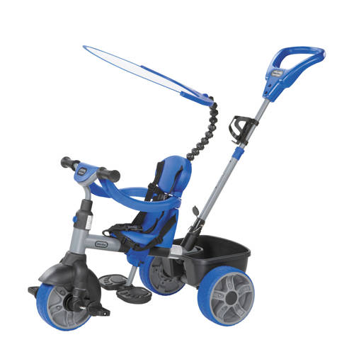 Little Tikes 4-in-1 driewieler blauw