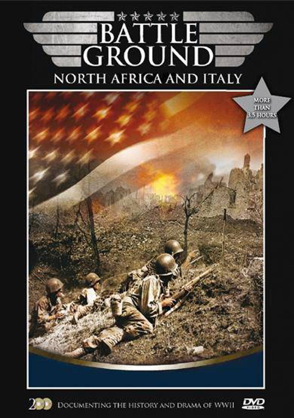 Battleground - North africa and italy (DVD)