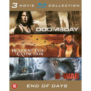 Doomsday/Resident evil extinction/D-war (Blu-ray)